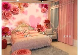 romantic bedroom roses. Rose Bedroom Decorating Ideas Romantic Roses And Wedding House Bed Wall Wallpaper Pink . I
