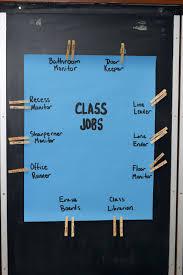 4th Grade Classroom Job Chart August 2009 Joe Hays
