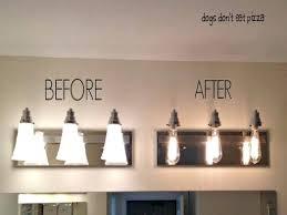 industrial bathroom vanity lighting. Industrial Bathroom Light Chic Vanity Lighting T