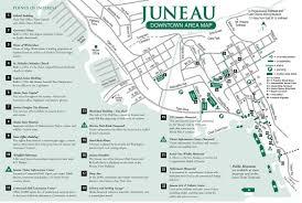juneau downtown area map