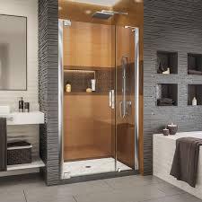 dreamline shdr 4334120 elegance ls 44 46 w x 72 h frameless pivot shower