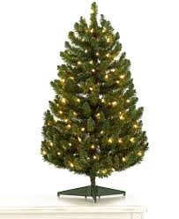 Holiday Lane 3u0027 Green Christmas Tree With Clear Lights  Holiday Holiday Lane Christmas Tree