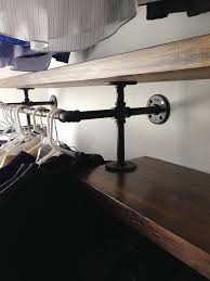 Plumbing Pipe Coat Rack Now THIS Is A Plumbing Pipe Closet Organizer Domestiphobia 76