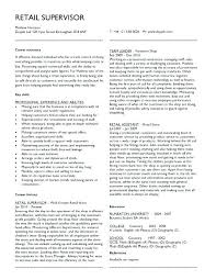 Retail Manager Sample Resume Resume For Retail Manager Fashion
