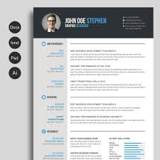 Free Cv Template Psd Cv Templates Photoshop Freebie