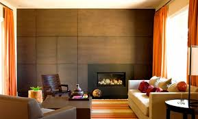 contemporary wood panelled wall