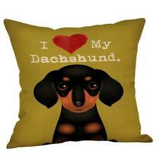 dachshund gifts cushion cover sausage dog gift orted funky designs