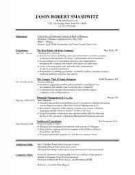 Sample Effective Resume Breakupus Stunning Blank Template Job Format