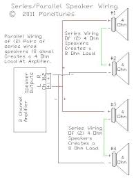 4ch amp wiring diagram 2 subs 8 ohm sub wiring diagram wiring subwoofers what s all this about speaker wiring ohms speaker