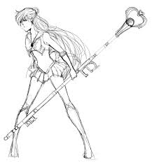 Small Picture Sailor Pluto Sketch by raihaYANGU on DeviantArt