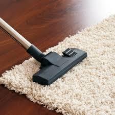 vacuuming a gy rug