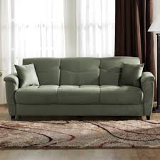 Sage Sofa sage green microfiber couch sofa bed sleeper with hidden storage 3387 by guidejewelry.us