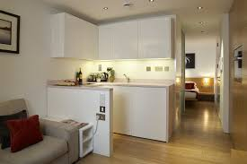 Cushion Flooring For Kitchen Simple Kitchen And Laundry With White Cabinet With Futuristic Lamp