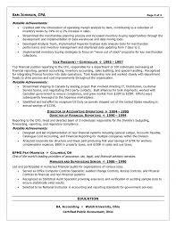 Cfo Resume Examples
