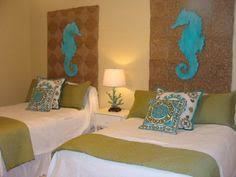 Great Headboard Idea Beach Condo Decor, Florida Condo Decorating, Beach  Headboard, Dorm Headboards