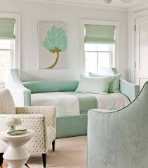 mint green bedroom