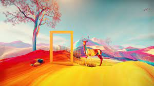 Colorful Digital Art Illustration HD ...