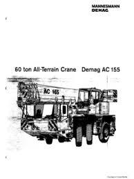 Demag Ac 155 Specifications Cranemarket
