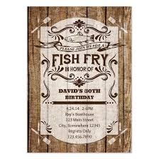 Rustic Fish Fry Invitations Cards On Pingg Com