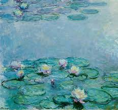 french painting water lilies by claude monet