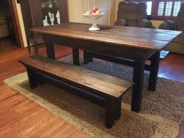 Dining room table bench Rustic House Dining Room Furniture Benches For Goodly Wooden Bench Table In Dining Room Yor Reference House Dining Room Furniture Benches For Goodly Wooden Bench Table In