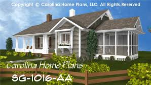 You'll find that no matter your taste, you will find a one story house plan at monster house plans that fits your favorite style. Small Cottage Style House Plan Sg 1016 Sq Ft Affordable Small Home Plan Under 1100 Square Feet