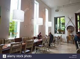 Interior Design Sonoma County Interior Of Barndiva Farm To Table Restaurant With Diners