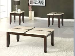 coffee and end table sets modern coffee table sets granite 3 piece coffee table set
