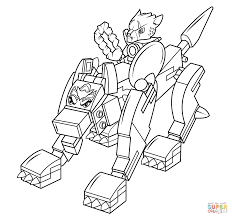 Lego Chima Coloring Pages Pdf With Wolf Page Free Printable
