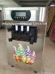 Soft Serve Vending Machine Inspiration 48 Gelato Desktop Mini Soft Ice Cream Vending Machine Fried Ice