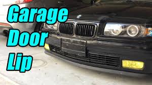 garage door seal lipHome Depot Lip Instal  Bmw E36 Budget Drifter  YouTube
