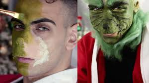 how the grinch stole make up transformation