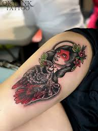 Neotraditional Neotrad Traditional Tattoos Girltattoo