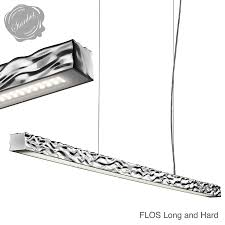 suspended linear lighting. flos long and hard suspension light linear lighting suspended e