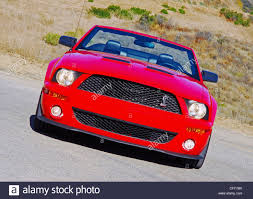 2007 Ford Shelby GT500 Mustang headon beauty Stock Photo, Royalty ...