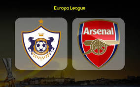 Image result for Arsenal vs  Qarabag