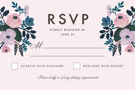 Email Invitations Magnificent What Does RSVP Mean On An Invitation