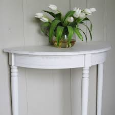 half moon console table. White Half Moon Console Table Ashley Range