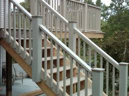 Staircase Railing Ideas deck stair railing ideas how to build deck stair railing 6184 by guidejewelry.us