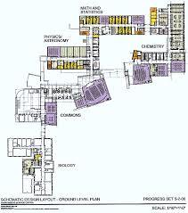 first floor floor plan of proposed science center