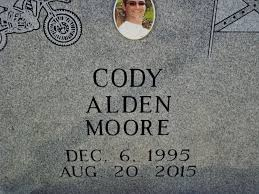 Cody Alden Moore (1995-2015) - Find A Grave Memorial