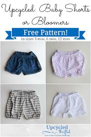 Free Sewing Patterns For Baby Delectable Free Baby Shorts Sewing Pattern Bloomers Heather Handmade