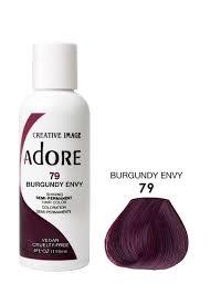 Adore Semi Permanent Hair Dye Color 4oz