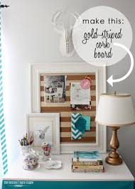 cork boards for office. Gold-Striped Cork Board 1 Boards For Office