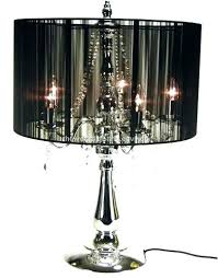 lamp cord covers how to make table lamp cover stand black fabric cover crystal chandelier decoration