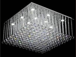 square design modern chandelier crystal chandelier lighting flush led light re home chandeliers
