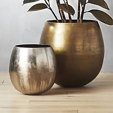 small plastic pot of gold. Contemporary Gold Rough Cast Planters On Small Plastic Pot Of Gold E