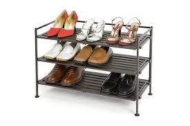 Amazon.com: Seville Classics 3-Tier Resin Slat Utility Shoe Rack, Espresso:  Home & Kitchen