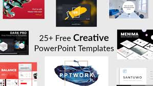 Template Free Powerpoint Templates Free Creative