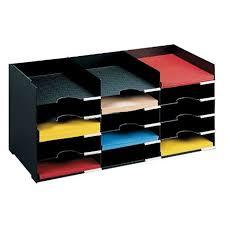 desk file organizer. Fine Desk Horizontal Desk Organizer  15 Compartments Image In File D